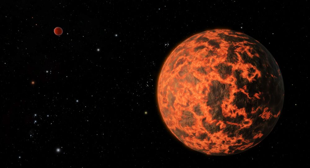 Exoplanet is Extremely Hot and Incredibly Close