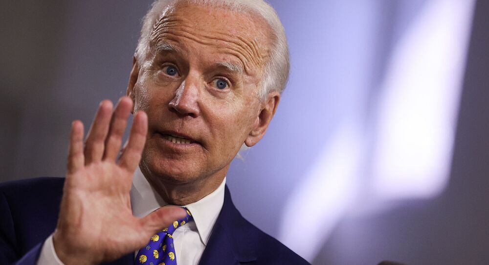Democratic presidential candidate and former Vice President Joe Biden speaks about his plans to combat racial inequality at a campaign event in Wilmington, Delaware, U.S., July 28, 2020