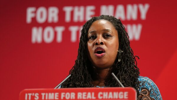 Labour party shadow Minister for Women and Equalities Dawn Butler speaks at the launch of Labour's Race and Faith Manifesto in north London on November 26, 2019.  - Sputnik International