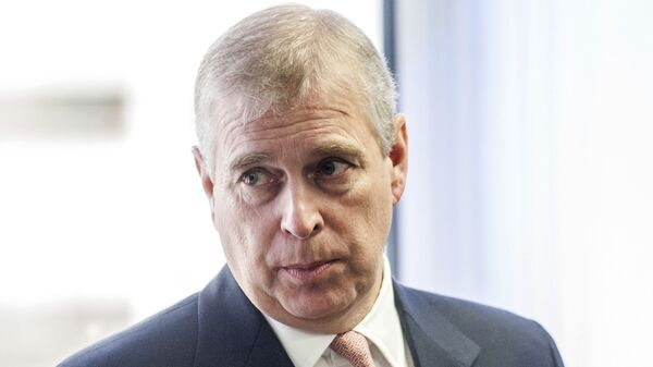 In this Monday, April 13, 2015 file photo, Britain's Prince Andrew visits the AkzoNobel Decorative Paints facility in Slough, England. Prince Andrew's effort to put the Jeffrey Epstein scandal behind him may have instead done him irreparable harm. While aides are trying to put the best face on his widely criticized interview with the BBC, royal watchers are asking whether he can survive the public relations disaster and remain a working member of the royal family - Sputnik International