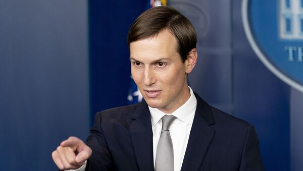 President Donald Trump's White House senior adviser Jared Kushner calls on a reporter at a press briefing in the James Brady Press Briefing Room at the White House in Washington, Thursday, Aug. 13, 2020, after Trump announced that the United Arab Emirates and Israel have agreed to establish full diplomatic ties as part of a deal to halt the annexation of occupied land sought by the Palestinians for their future state - Sputnik International