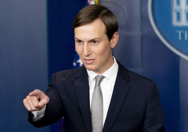 President Donald Trump's White House senior adviser Jared Kushner calls on a reporter at a press briefing in the James Brady Press Briefing Room at the White House in Washington, Thursday, Aug. 13, 2020, after Trump announced that the United Arab Emirates and Israel have agreed to establish full diplomatic ties as part of a deal to halt the annexation of occupied land sought by the Palestinians for their future state