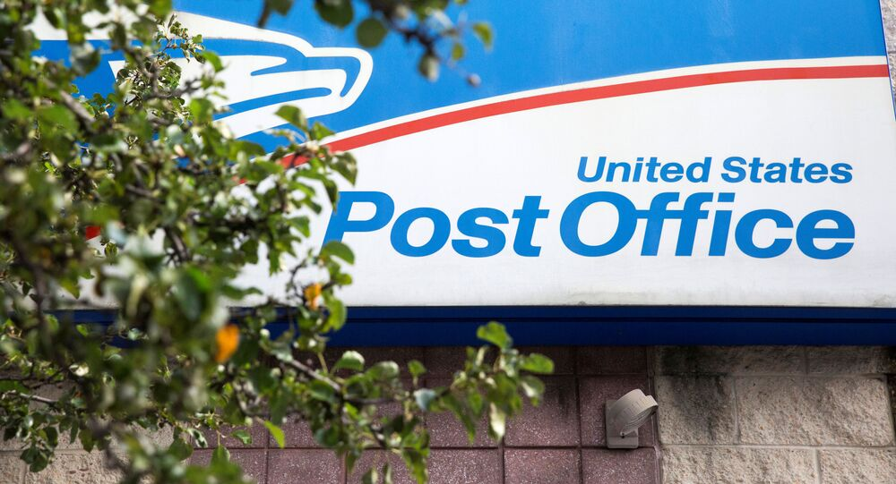 A U.S. Postal Service (USPS) post office is pictured in Philadelphia, Pennsylvania, U.S., August 14, 2020.