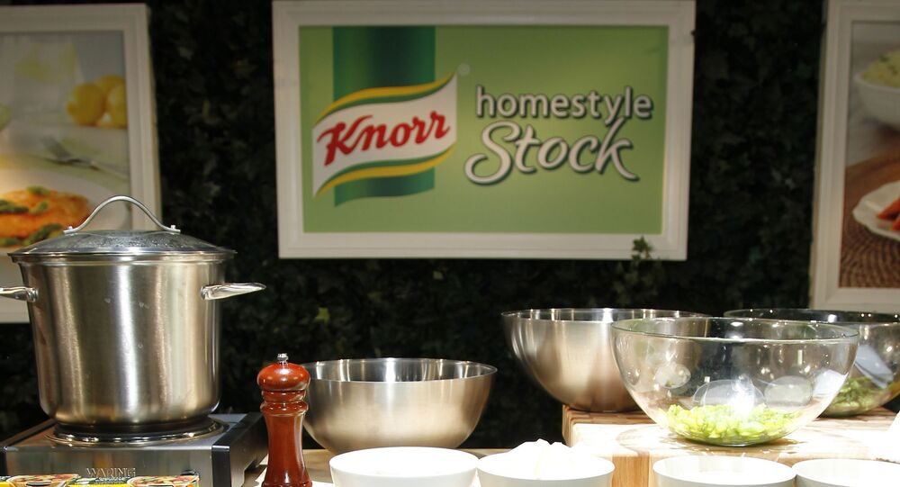 Atmosphere at the Knorr booth during the BlogHer 2011 conference at the San Diego Convention Center on 6 August 2011 in San Diego