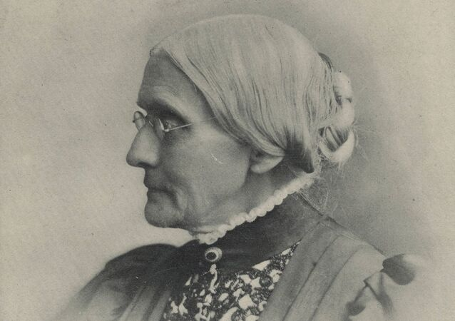 An undated portrait of women's suffrage activist Susan B. Anthony. Brown's Famous Pictures/Dayton Metro Library/Handout