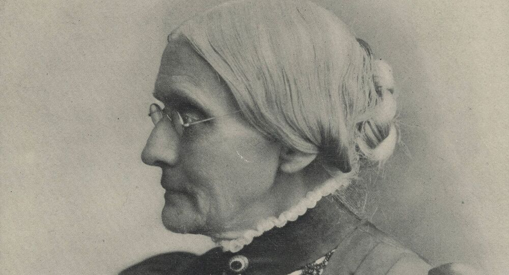 An undated portrait of women's suffrage activist Susan B. Anthony. Brown's Famous Pictures/Dayton Metro Library/Handout
