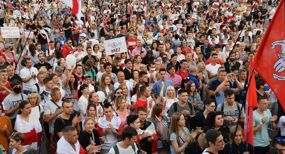 Minsk protests