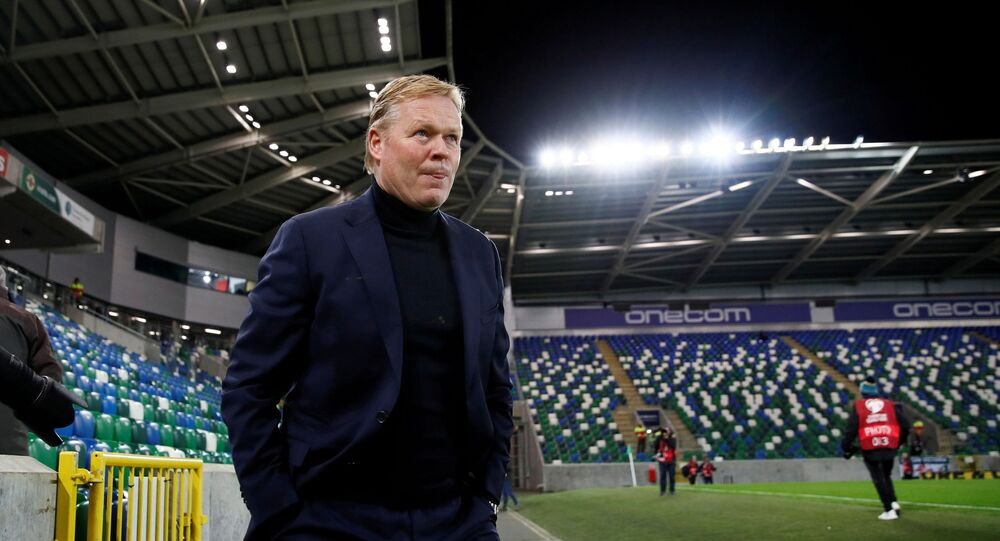 FILE PHOTO: Soccer Football - Euro 2020 Qualifier - Group C - Northern Ireland v Netherlands - Windsor Park, Belfast, Northern Ireland, Britain - November 16, 2019