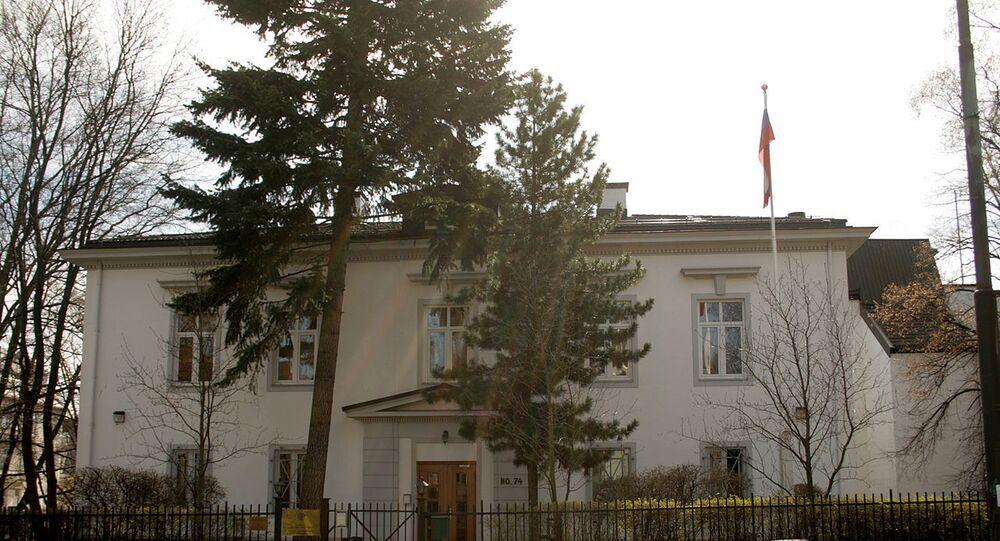 Russian embassy in Oslo, Norway