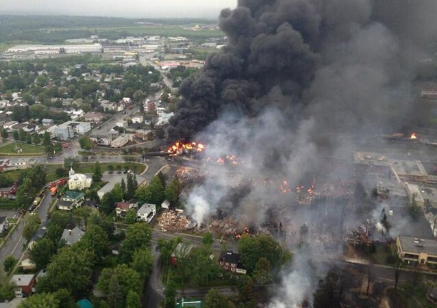 The crude-by-rail explosion in Lac-Mégantic, Canada, killed 47 people in 2013.