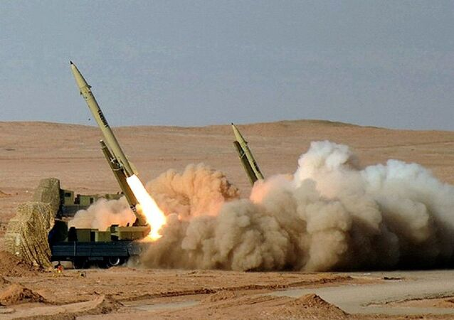 Fateh-110 Missile in Great prophet-7 military exercise