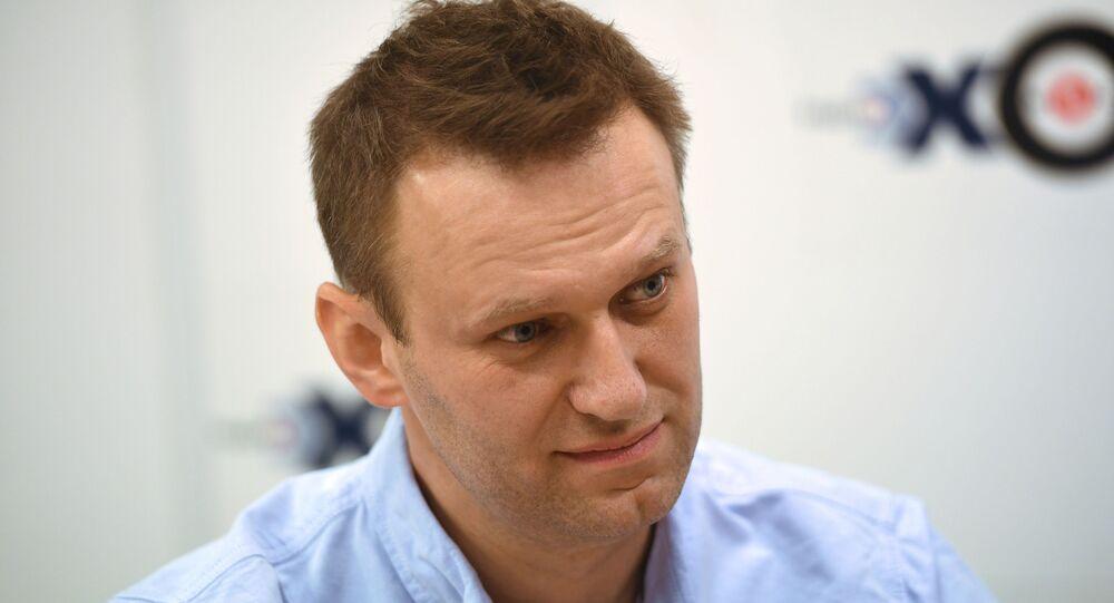 Russian opposition figure Alexei Navalny