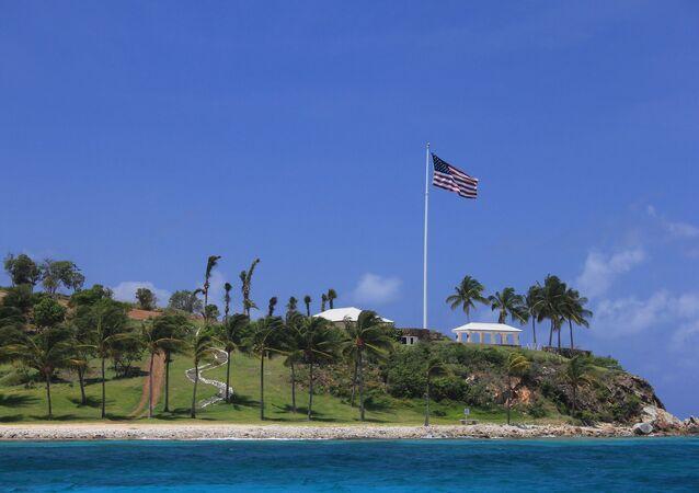 Jeffrey Epstein's private Little St. James island in US Virgin Islands