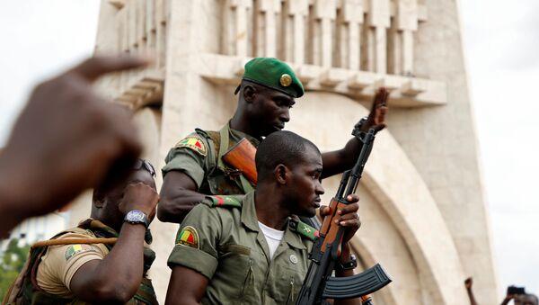 Malian army soldiers in Bamako, Mali - Sputnik International