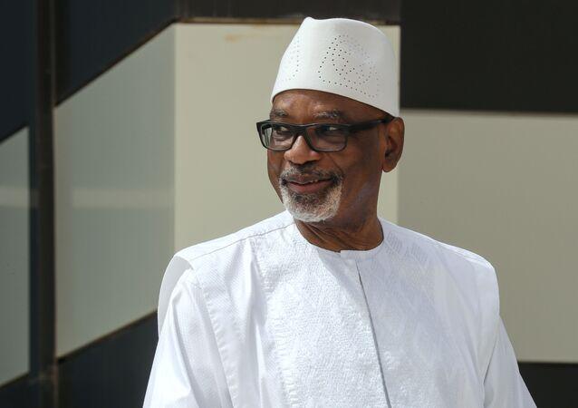 Mali President Ibrahim Boubacar Keita