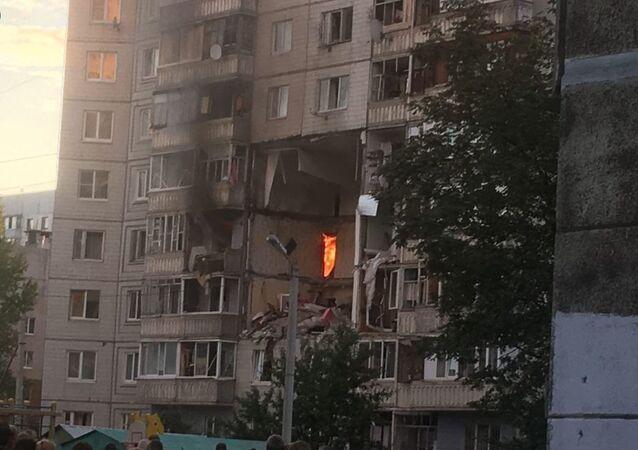 Gas Explosion Rocks Residential Building in Yaroslavl, Russia