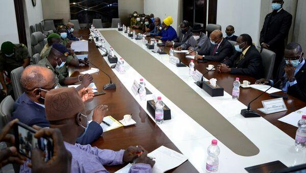 ECOWAS-CNSP meeting in Bamako, Mali - Sputnik International
