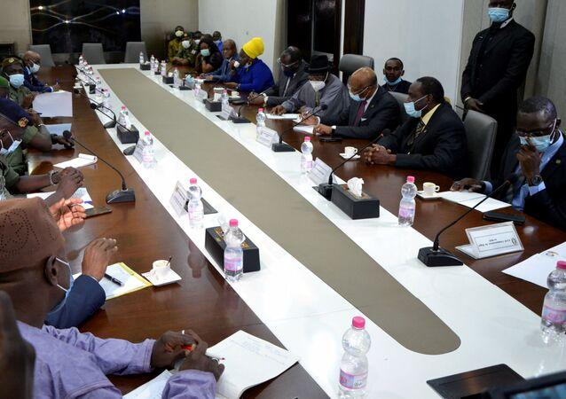 ECOWAS-CNSP meeting in Bamako, Mali