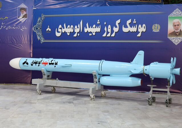The Iranian-made 'Abu Mahdi' cruise missile. File photo