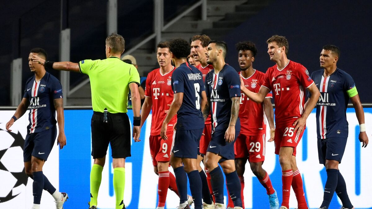 bayern fans celebrate victory over psg in 2020 21 uefa champions league final video sputnik international uefa champions league final