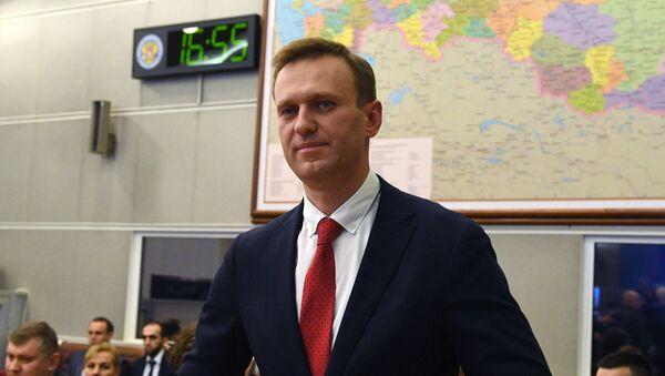 Alexei Navalny (File) - Sputnik International