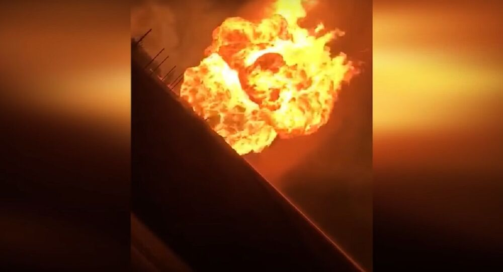 Explosion at Gas Pipeline Leads to Blackout in Syria