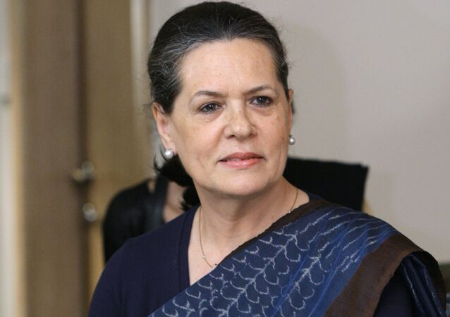 The Chairperson of the United Progressive Alliance and the leader of the Congress Parliamentary Party Sonia Gandhi