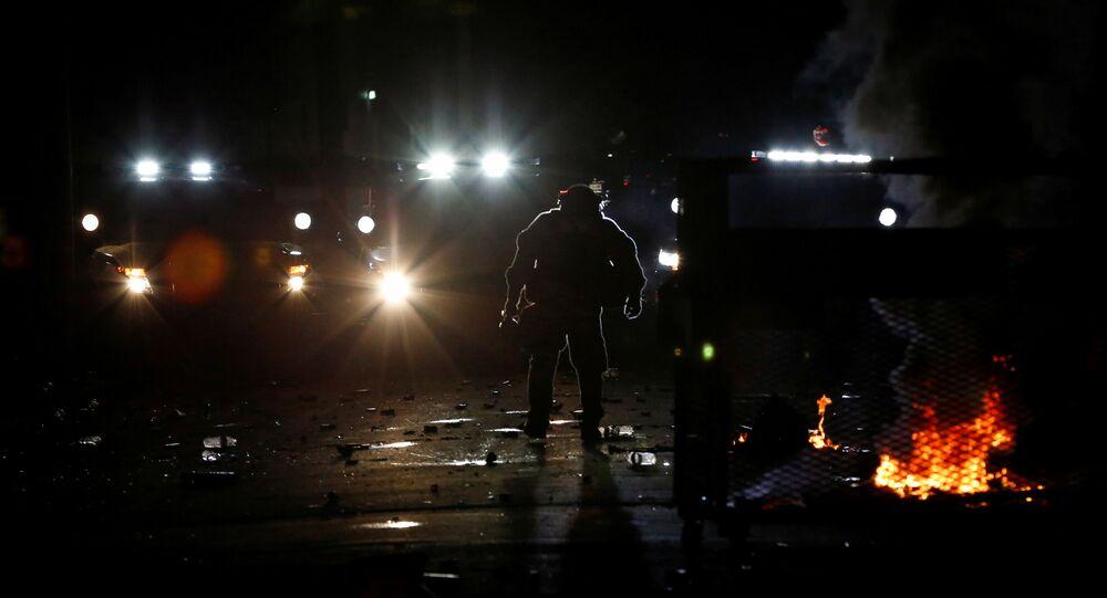 Portland police use tear gas, arrest over 20 after declaring 'riot'