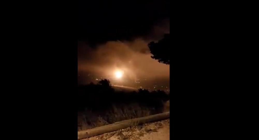 From the incident near Manara   (Video: Yogev Freid)