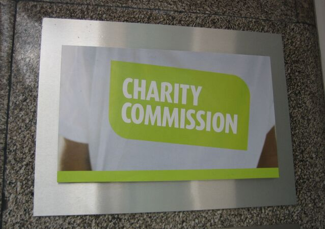 Charity Commission London office plaque