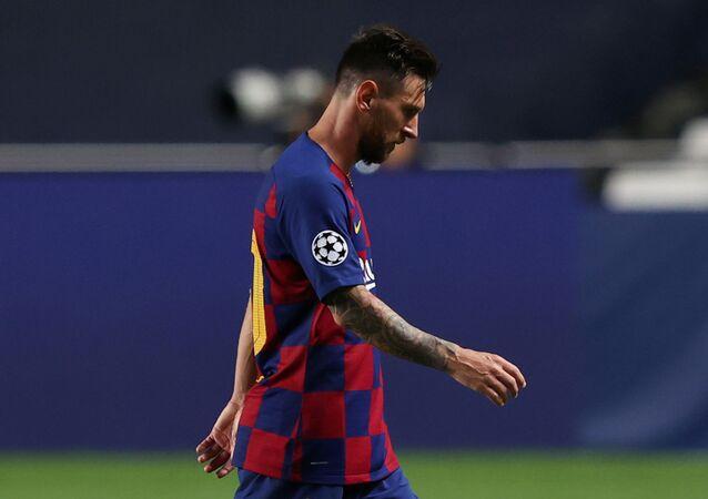 Soccer Football - Champions League - Quarter Final - FC Barcelona v Bayern Munich - Estadio da Luz, Lisbon, Portugal - August 14, 2020