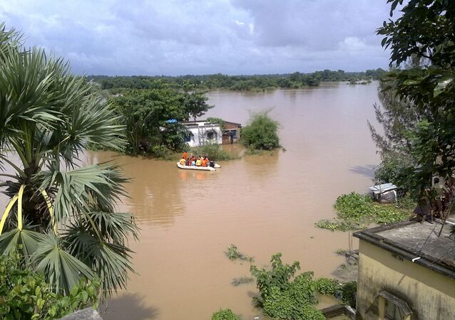 Floods at Manikhamb, Balasore, Odisha (File)