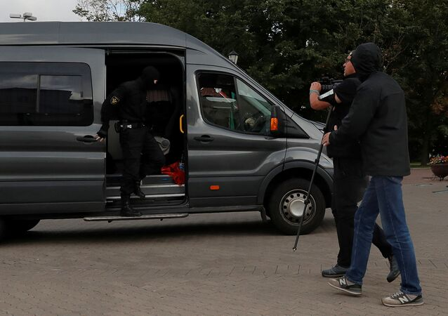 Group of Journalists Covering Protests Taken to Minsk