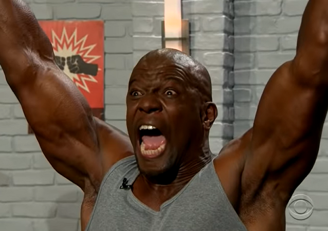 Screenshot of The Late Late Show with James Corden Starring Terry Crews