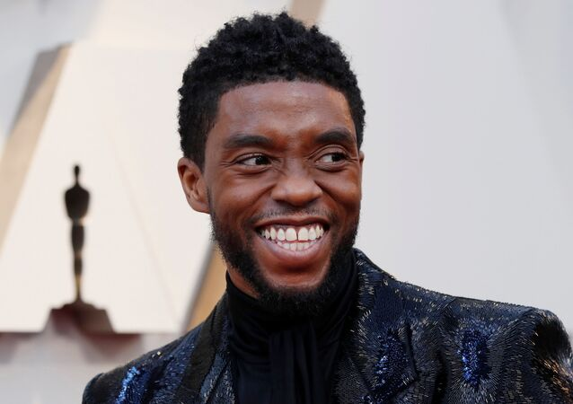 91st Academy Awards - Oscars Arrivals - Red Carpet - Hollywood, Los Angeles, California, U.S., February 24, 2019.  Actor Chadwick Boseman of Black Panther wears Givenchy.