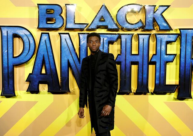 Actor Chadwick Boseman arrives at the premiere of the new Marvel superhero film 'Black Panther' in London, Britain February 8, 2018