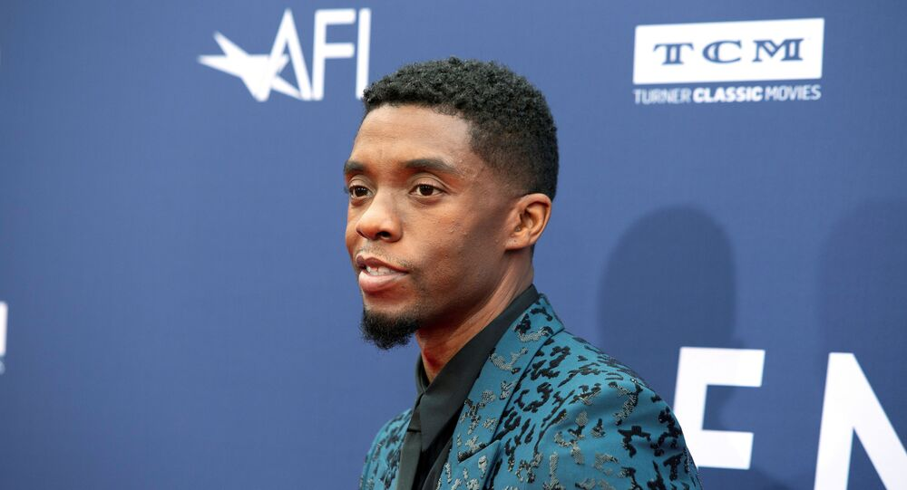 Chadwick Boseman arrives at the 47th AFI Life Achievement Award gala honoring actor Denzel Washington in Los Angeles, California, U.S., June 6, 2019.