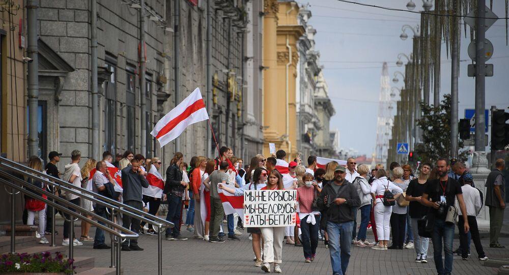 Rally in Minsk