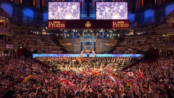 FILE PHOTO: The BBC Symphony Orchestra performs at the last night of the BBC Proms festival of classical music at the Royal Albert Hall in London, Britain, 12 September 2015. REUTERS/Neil Hall/File Photo - Sputnik International