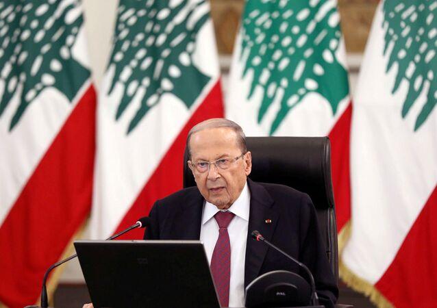 Lebanon's President Michel Aoun