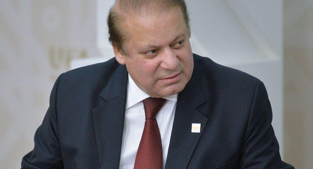 Nawaz Sharif, Prime Minister of the Islamic Republic of Pakistan (File)