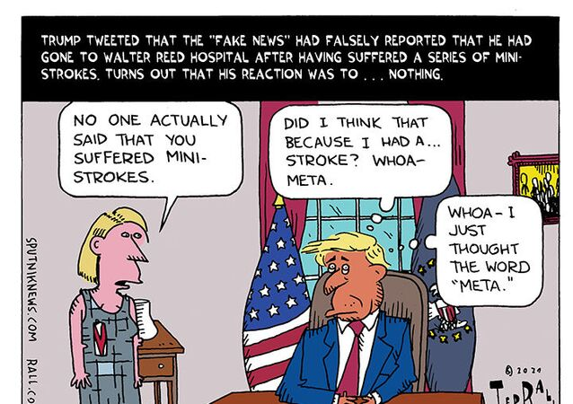 Trump Denies Mini Strokes