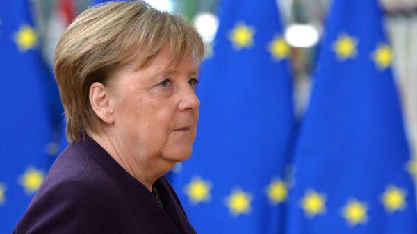 German Chancellor Angela Merkel, file photo. - Sputnik International
