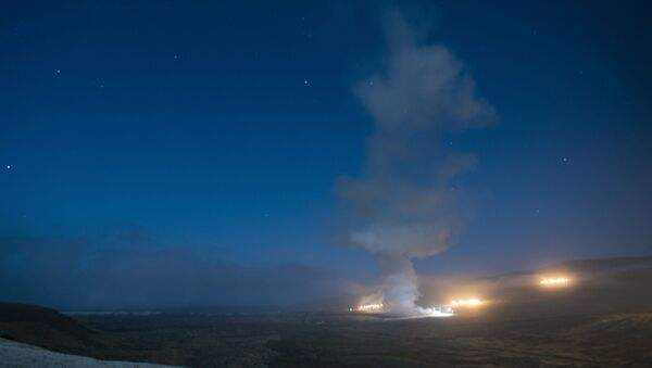 An Air Force Global Strike Command unarmed Minuteman III intercontinental ballistic missile launches during an operational test at 12:21 a.m. Tuesday, Aug. 4, 2020 at Vandenberg Air Force Base, Calif. - Sputnik International