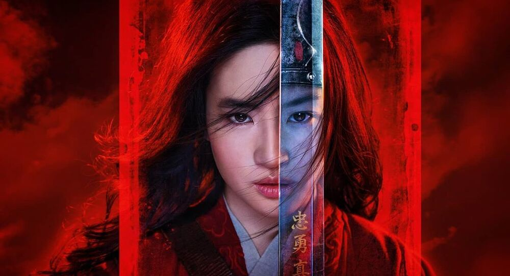 poster for Mulan movie