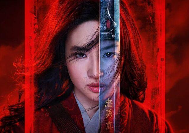 poster for Mulan movie