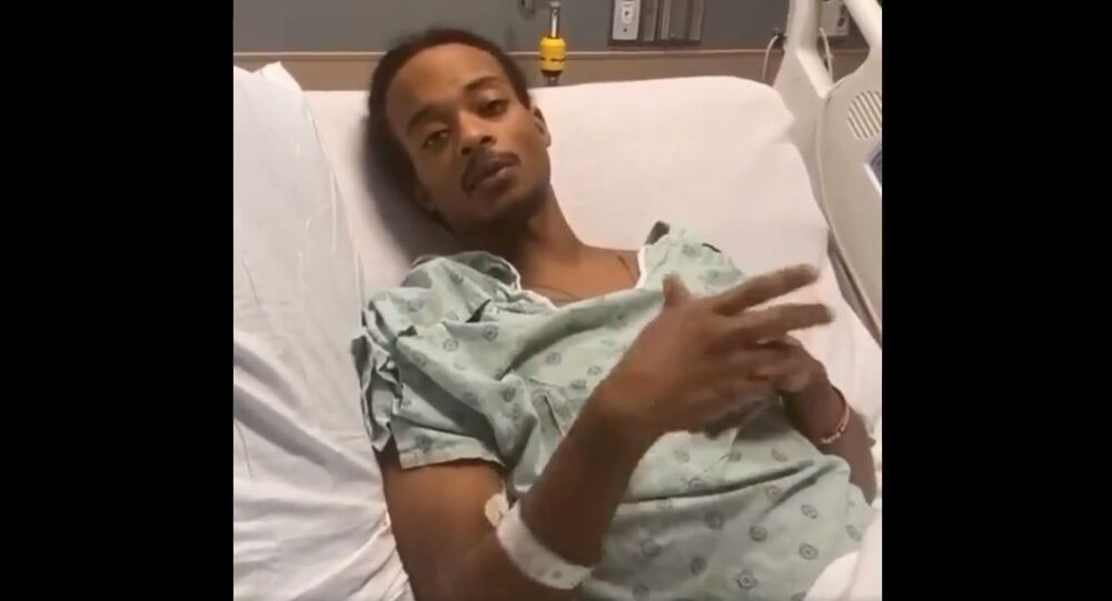 Jacob Blake released this powerful video message from his hospital bed today, reminding everyone just how precious life i