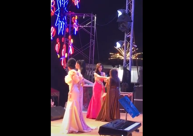 Thailand beauty pageant ends in chaos after contestant accuses judges of fixing scores