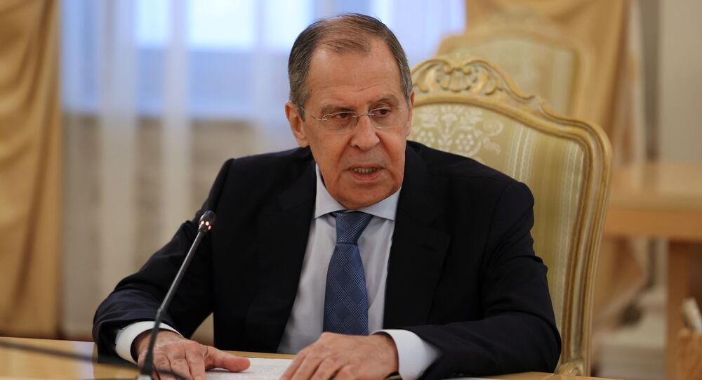 Russian Foreign Minister Sergei Lavrov  (File)