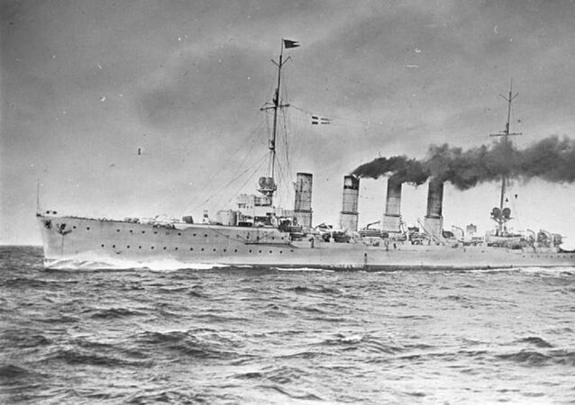 German light cruiser Karlsruhe